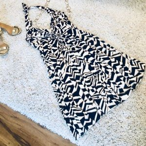 Trina Turk halter dress size 6